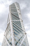 Turning torso. Modern looking office building in Sweden Royalty Free Stock Photography