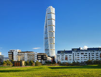 Turning Torso - Skyscraper in Malmo. Sweden Stock Photos
