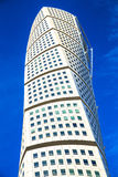 Turning Torso - Skyscraper in Malmo,Sweden Royalty Free Stock Photography