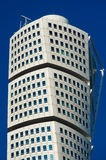 Turning Torso skyscraper in Malmo, Sweden Royalty Free Stock Photography