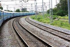 Turning Train Stock Images