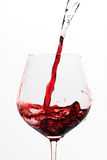 Turning water into wine Royalty Free Stock Photography
