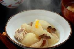turnip boiled en kruidde, NIMONO Stock Fotografie