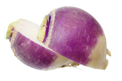 Turnip. On Isolated White Background Royalty Free Stock Photography
