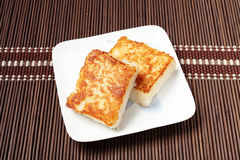Turnip Cake. Steamed turnip cake,Chinese food Royalty Free Stock Photos