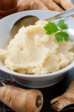 Turnip Mash Royalty Free Stock Photography