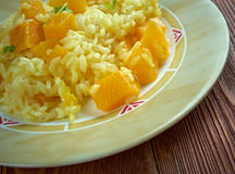 Turnip Risotto Stock Photography