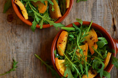 Turnip and rocket salad Stock Photography