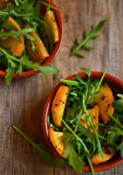 Turnip and rocket salad Stock Photos