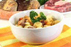Turnip stew Stock Photography