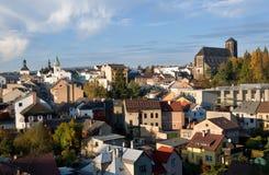 Turnov,捷克共和国 库存照片