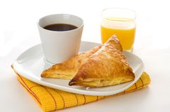 Turnover Breakfast Royalty Free Stock Photos