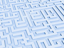 Turns Of A Labyrinth Stock Images