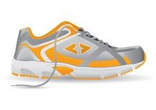 Turnschuh-Sport-Schuh-Vektor-Illustration Lizenzfreie Stockfotos