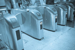Turnstile Stock Image