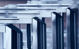 Turnstile gate Stock Image