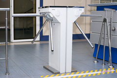 Turnstile turntable Royalty Free Stock Photography