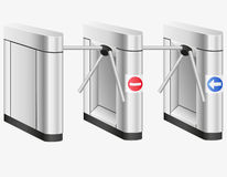Turnstile vector illustration Royalty Free Stock Photography