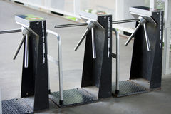 Turnstiles Royalty Free Stock Images