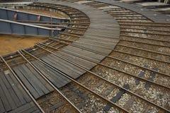 turntable железной дороги Стоковые Фотографии RF