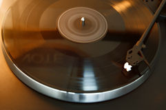 Turntable. Study of a turntable Stock Photos