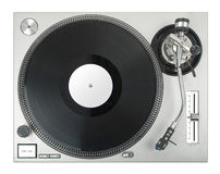 turntable Royaltyfri Foto