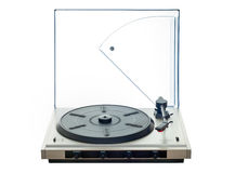 turntable Arkivbild