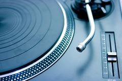 Turntable Royalty Free Stock Photo