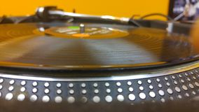 turntable Photo stock