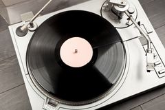Turntable deck Royalty Free Stock Image