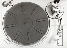 Turntable deck Stock Photography