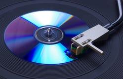 turntable för cd 2 Fotografering för Bildbyråer