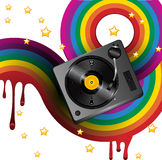 Turntable funk Royalty Free Stock Images