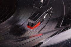 Turntable head seen through a dusty glass Royalty Free Stock Photos