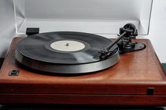 Turntable hi-fi Стоковое фото RF