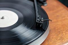 Turntable hi-fi Стоковая Фотография RF