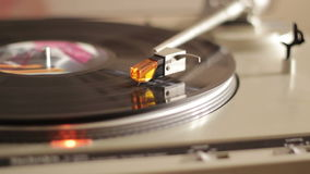 Turntable. High quality footage about a turntable with natural lighting stock video footage