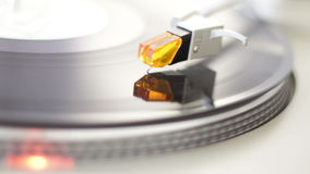 Turntable. High quality turntable with natural lighting stock footage