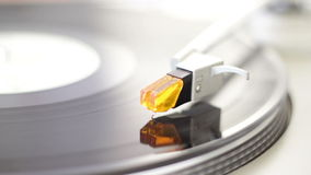 Turntable. High quality turntable with natural lighting stock video