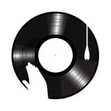 Turntable Icon vector Royalty Free Stock Photography