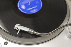 turntable ii Royaltyfria Bilder