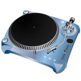 Turntable illustration Stock Photo
