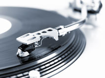 Turntable in motion. Stock Image