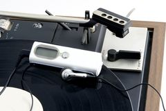 Turntable with MP3 Player Royalty Free Stock Photography