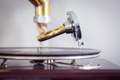Turntable needle from a phonograph Royalty Free Stock Photos