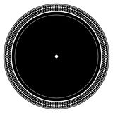 Turntable plate royalty free illustration