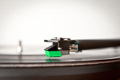 turntable record player arm Royalty Free Stock Photos