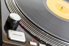 Turntable rotates Stock Images