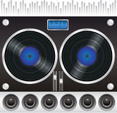 Turntable vector Stock Photo