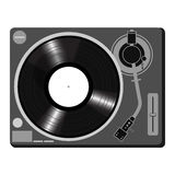 Turntable vector Royalty Free Stock Images